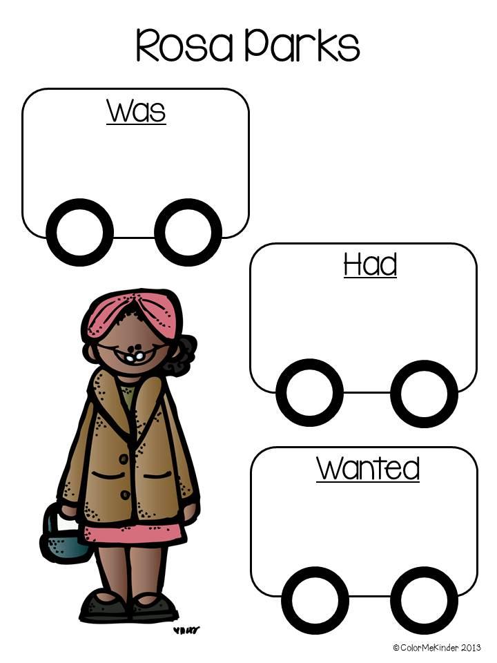 Rosa Parks Clipart.
