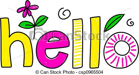 Hello Illustrations and Stock Art. 15,014 Hello illustration and.