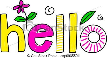 Hello Illustrations and Stock Art. 15,014 Hello illustration and.