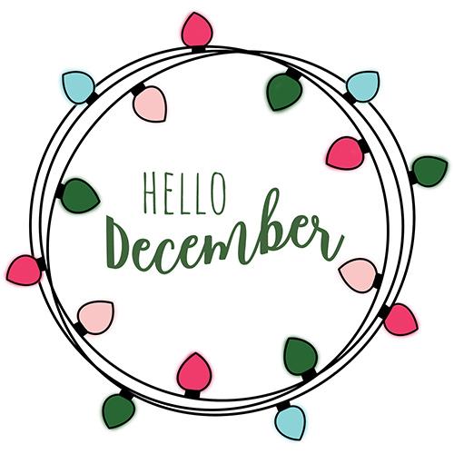December Digital Planner Freebies.
