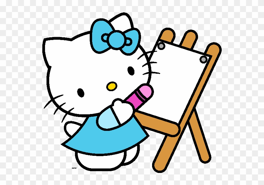 Hello Kitty Baby Clipart.
