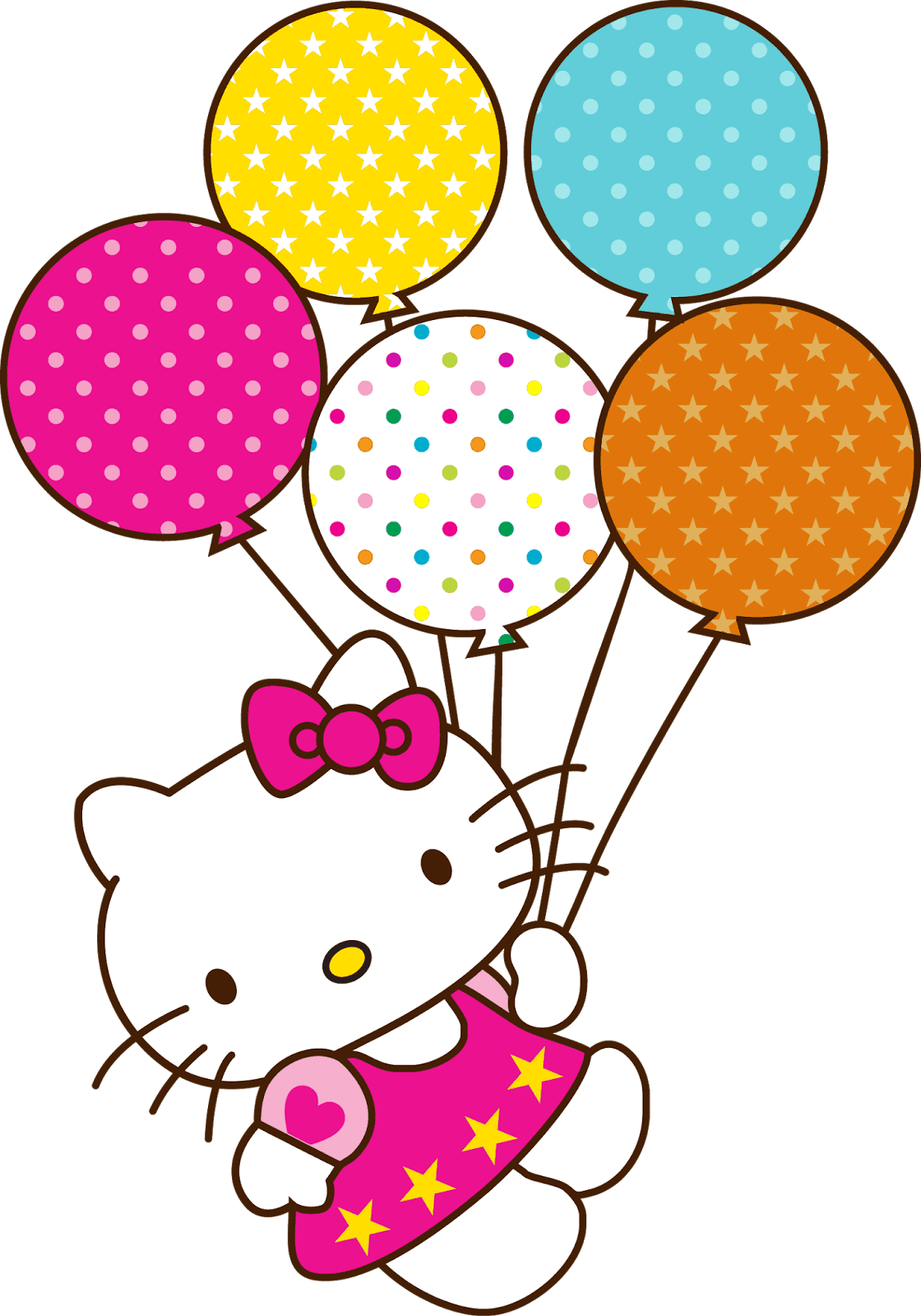 Hello Kitty Party Png.