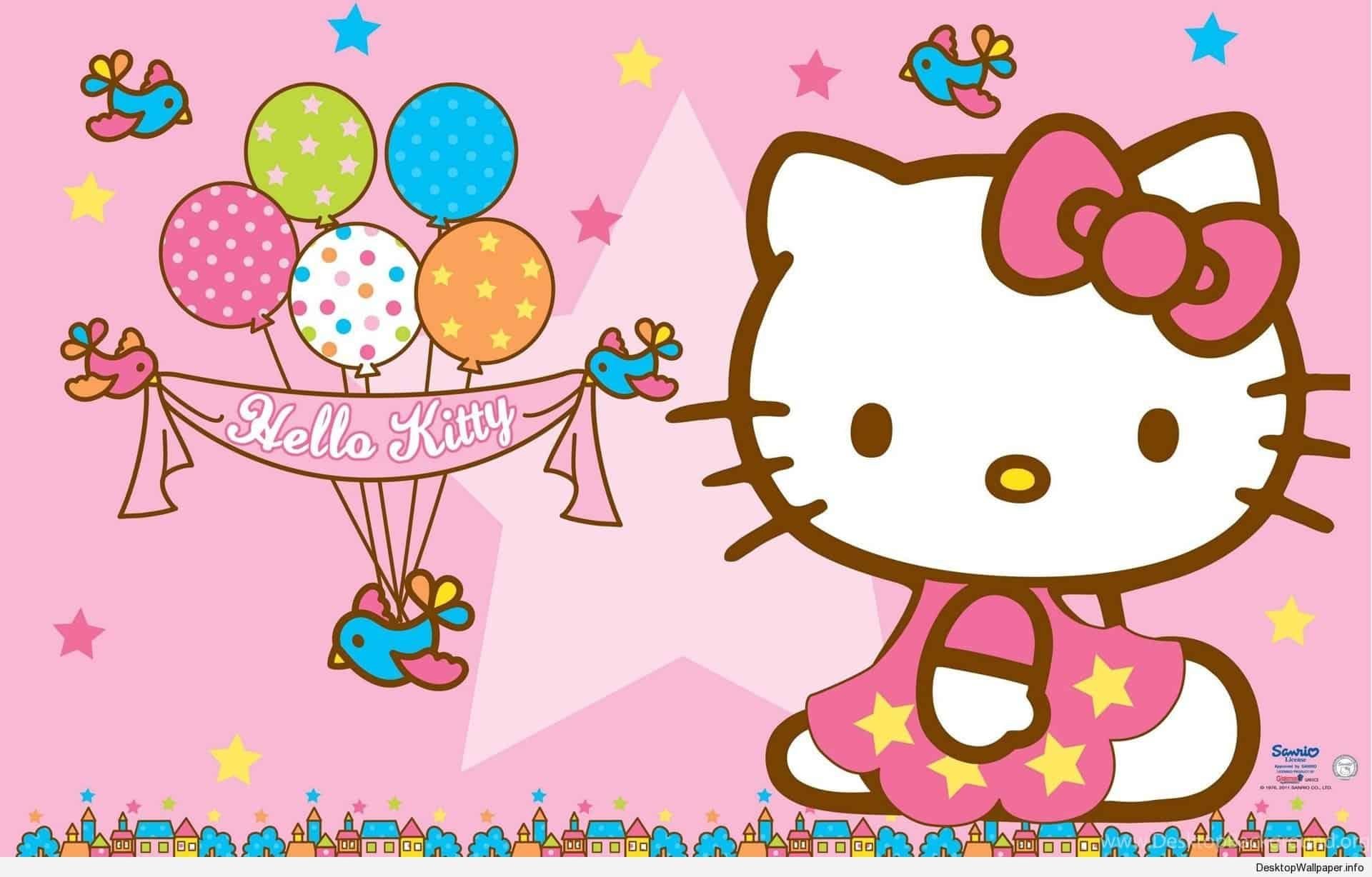 Hello Kitty Birthday Wallpapers.