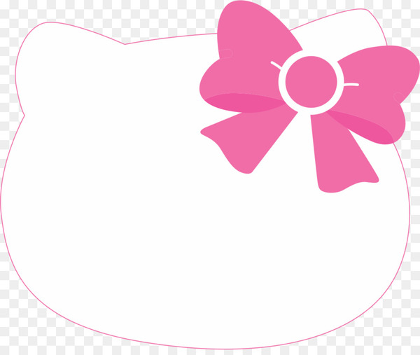 Hello Kitty Wedding invitation Party Birthday Banner.