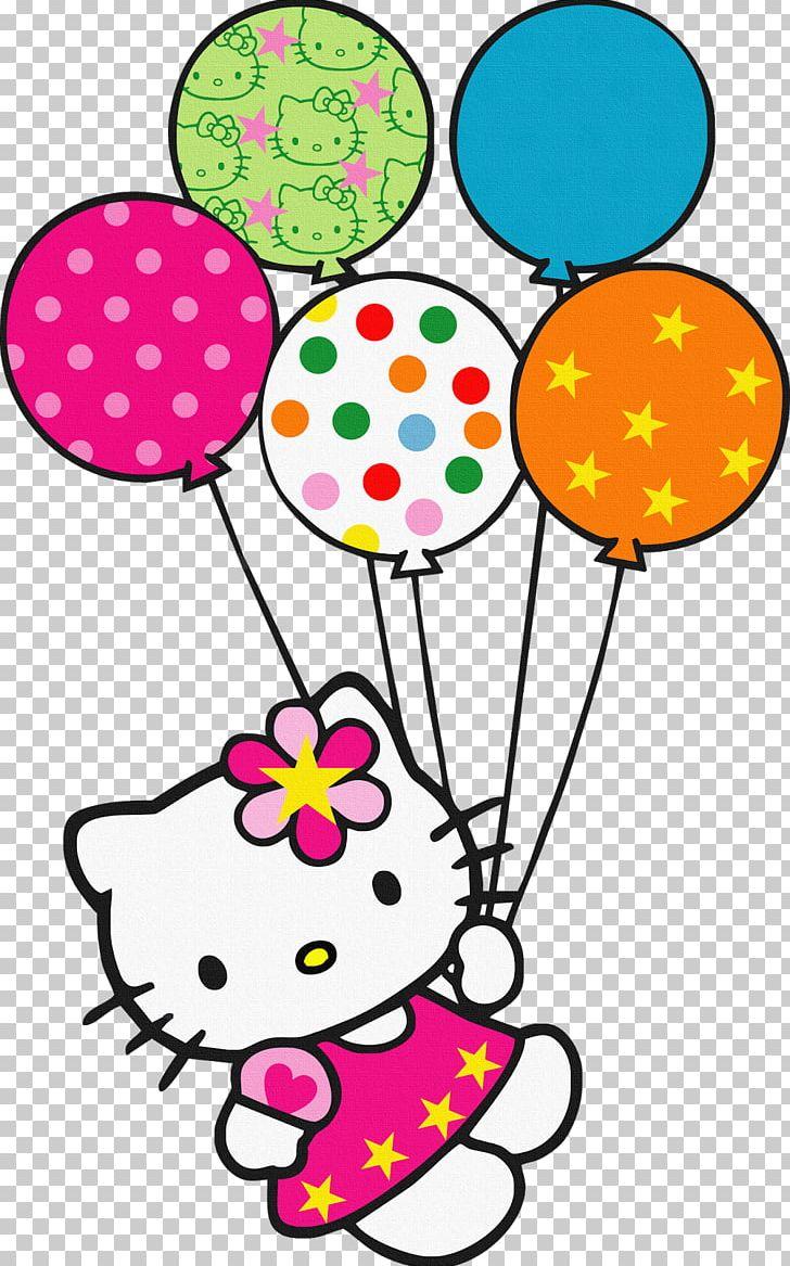 Hello Kitty Balloon PNG, Clipart, Art, Artwork, Balloon, Birthday.
