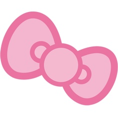 Hello kitty pink bow clipart » Clipart Station.