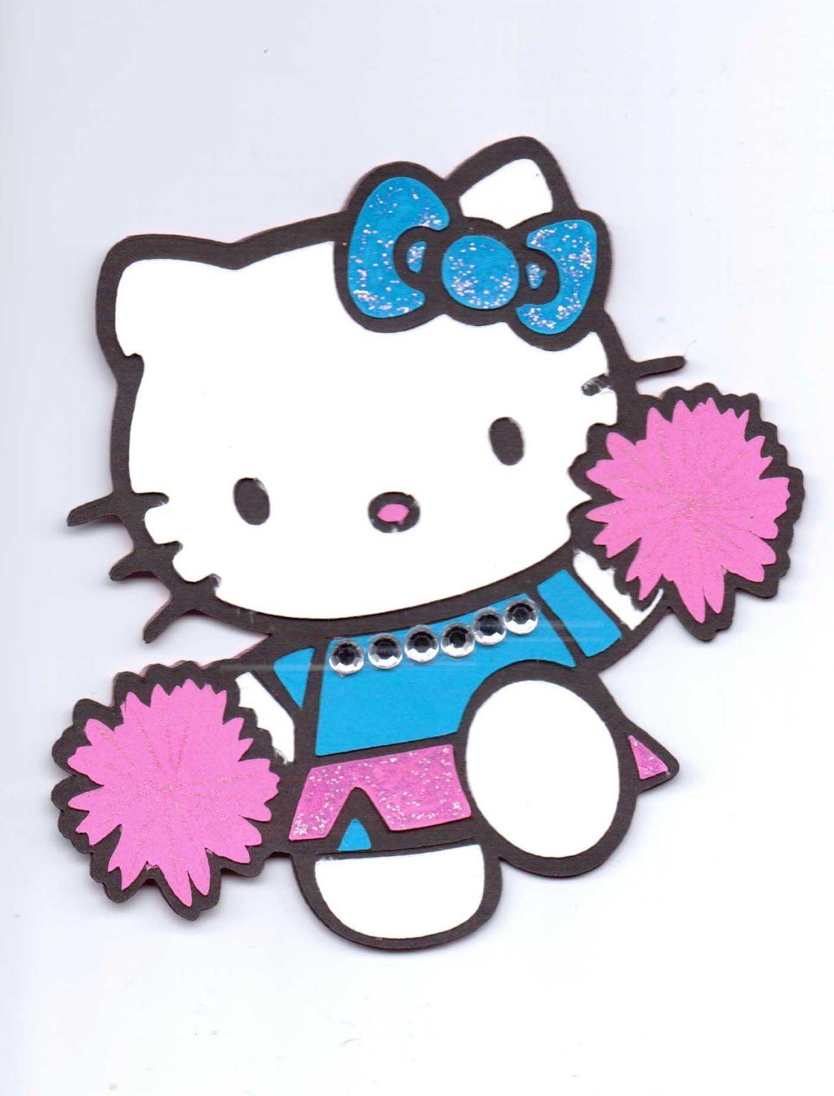 Hello Kitty Cheerleader Clip Art.