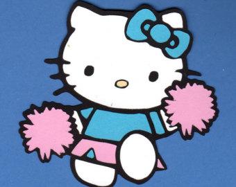Free Hello Kitty Cheerleader Vector, Download Free Clip Art, Free.