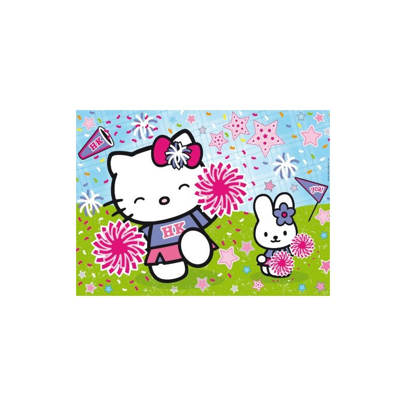 Clementoni ΠΑΖΛ 104 GLITTER Hello Kitty cheerleader 1211.