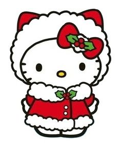 49 Best Hello kitty Christmas images in 2017.