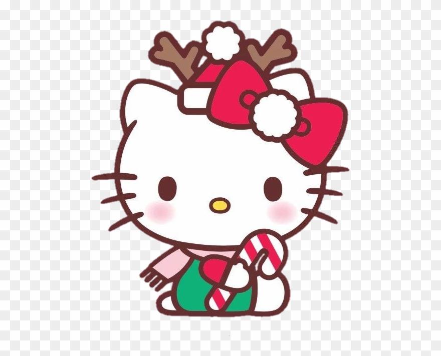 Hello Kitty Christmas Clip Art.