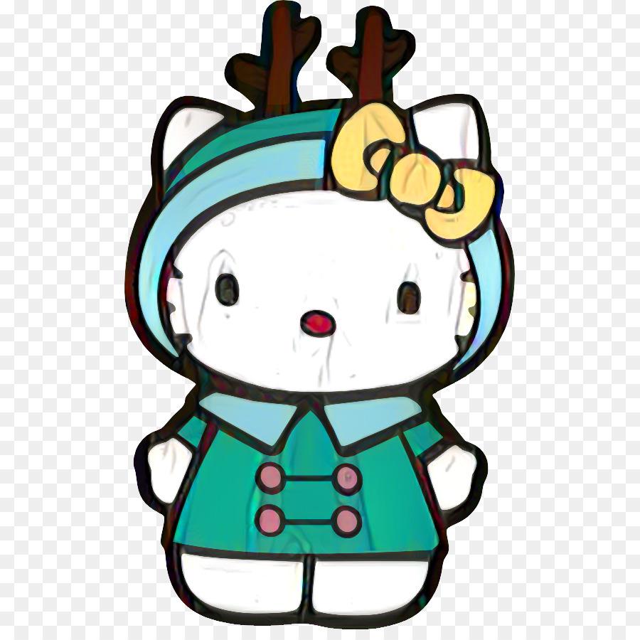 Hello Kitty Christmas png download.