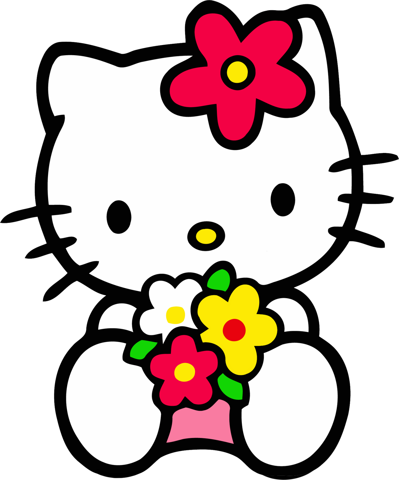 Cute Hello Kitty ClipArt Download for All Purposes.