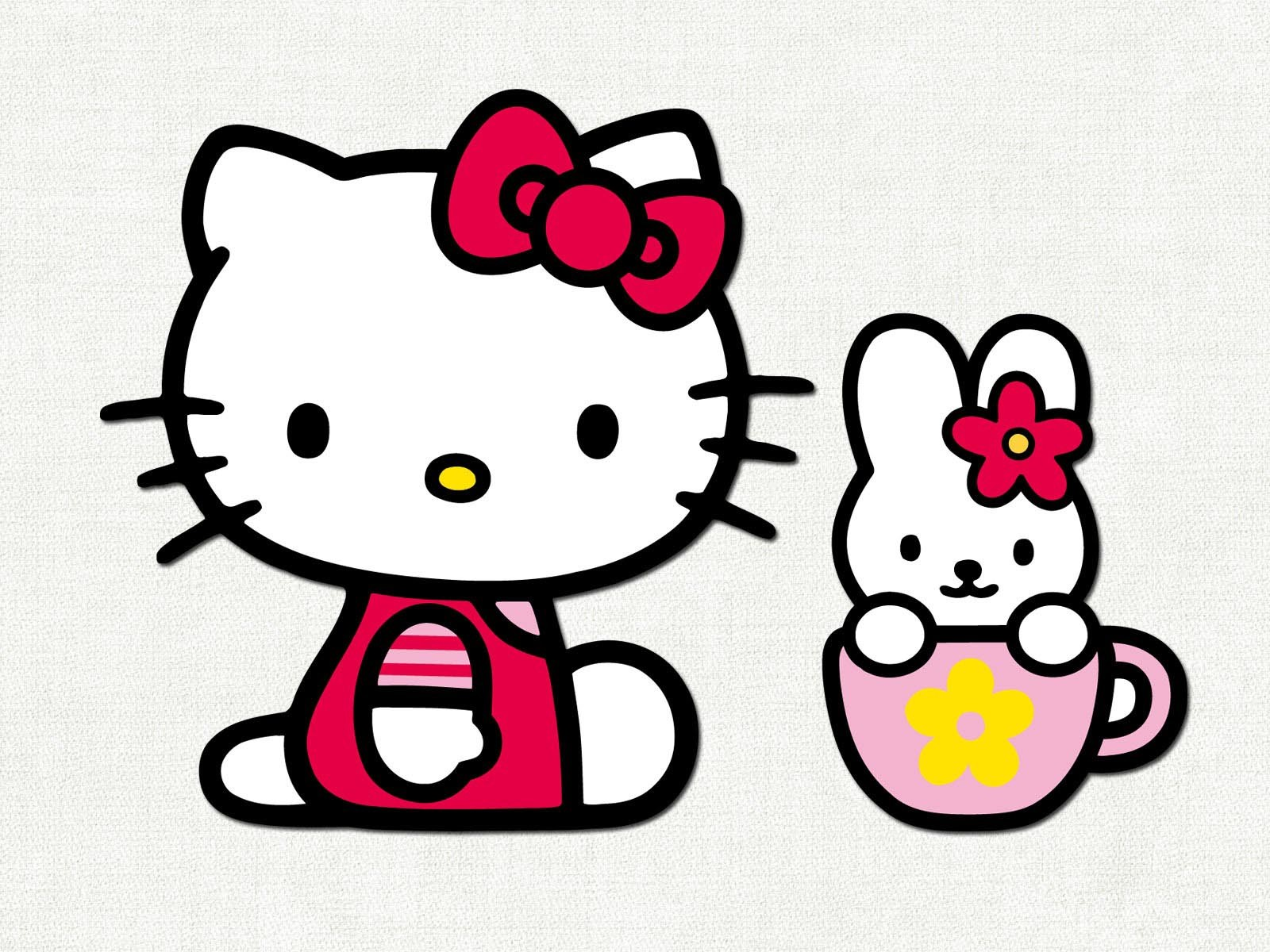 Free Hello Kitty Clipart.