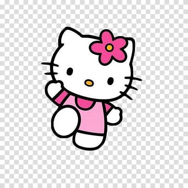 Hello Kitty, Hello Kitty illustration transparent background.