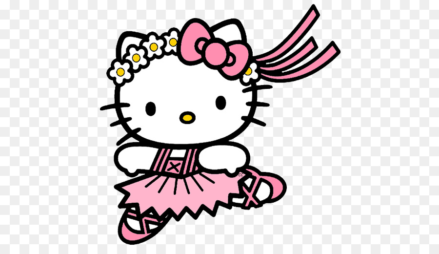Hello Kitty Background clipart.