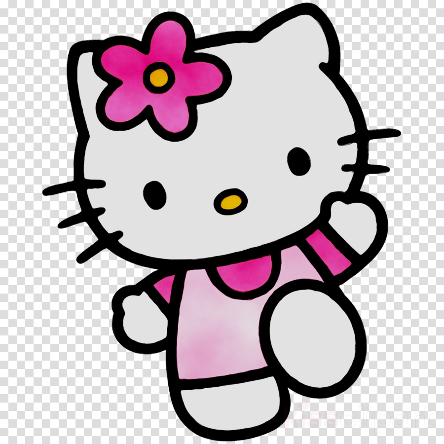 Hello Kitty Pink clipart.