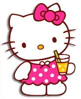 Hello Kitty Clip Art Border.