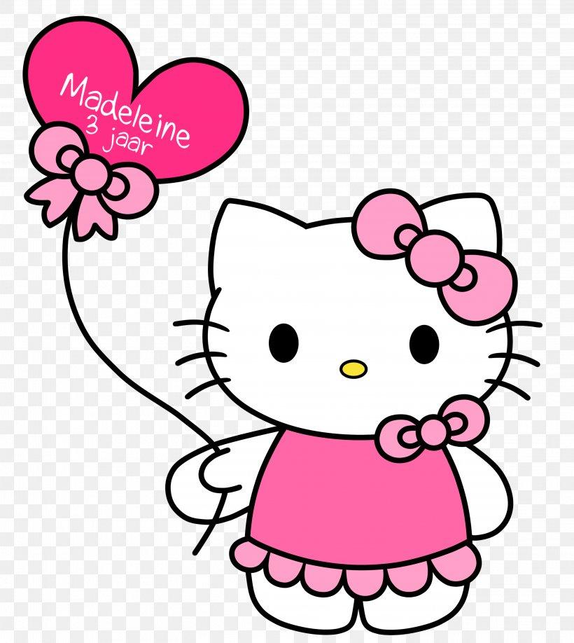 Hello Kitty Clip Art, PNG, 3046x3412px, Watercolor, Cartoon.