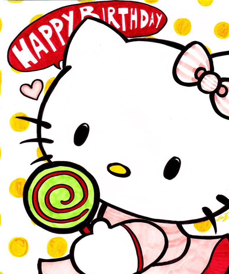 Hello kitty birthday clip art clipart free to use resource.