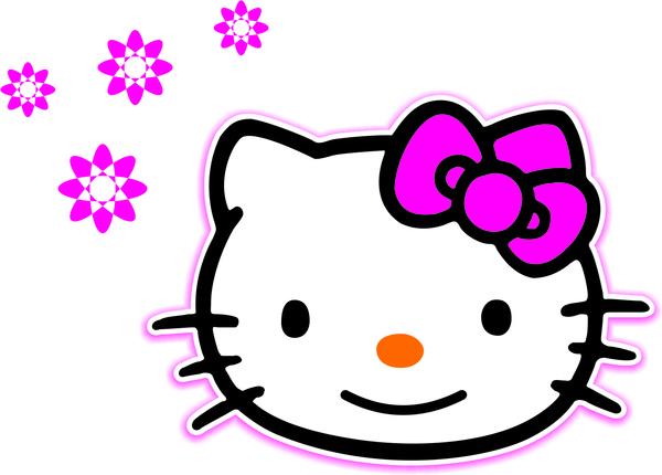Hello kitty vector Free vector in Coreldraw cdr ( .cdr.