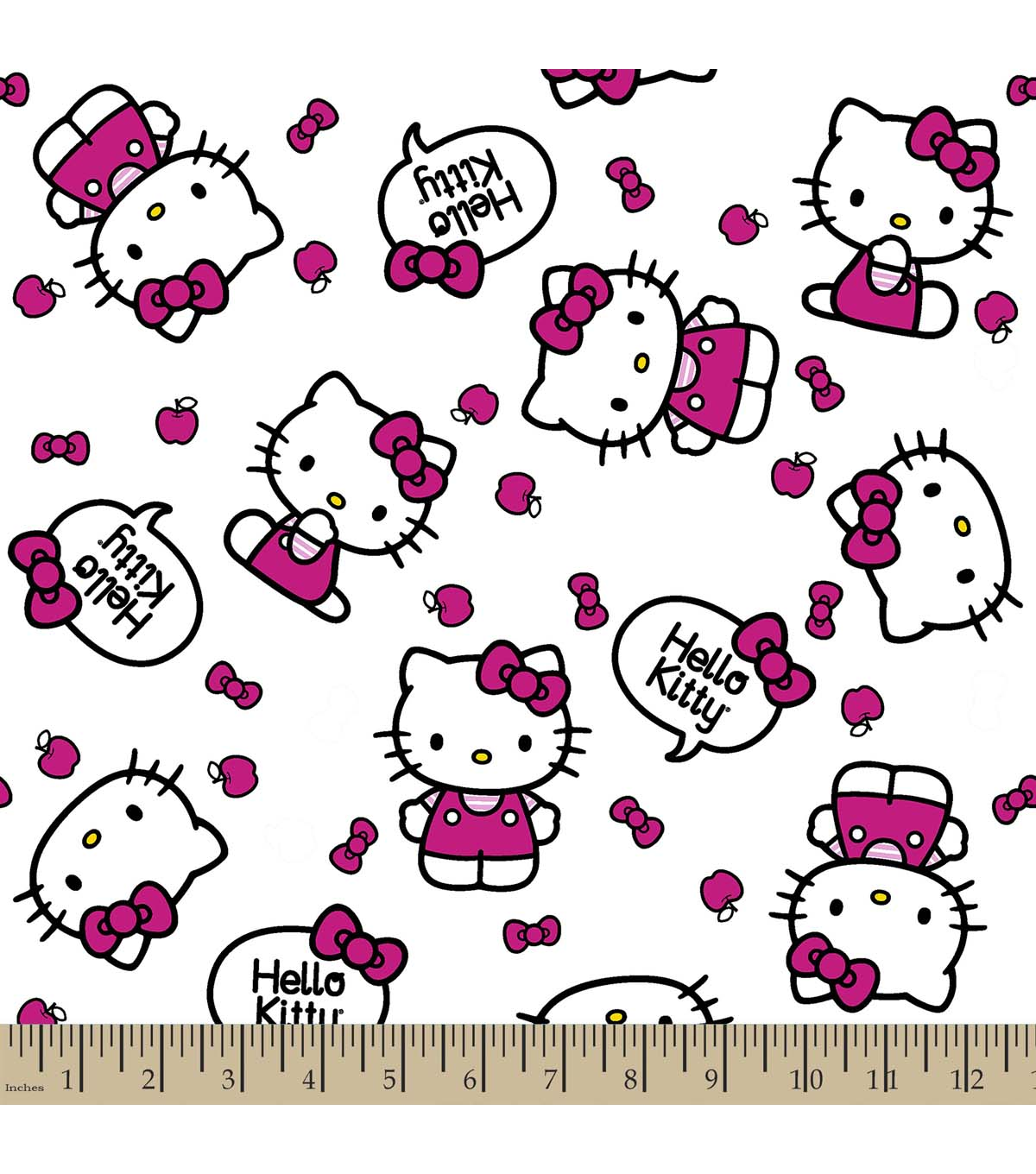 hello kitty Hello pack pink kitty pattern home design.