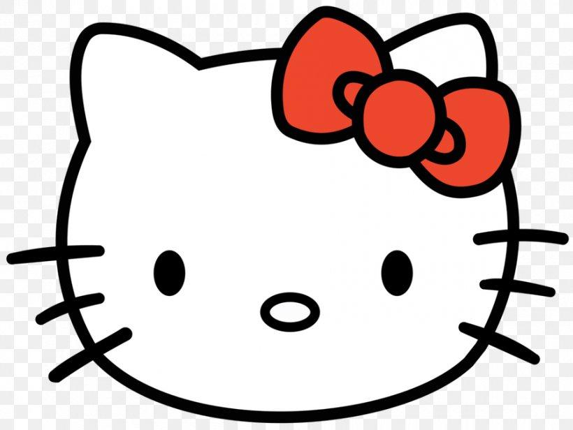 Hello Kitty Kitten Face Clip Art, PNG, 900x677px, Hello.