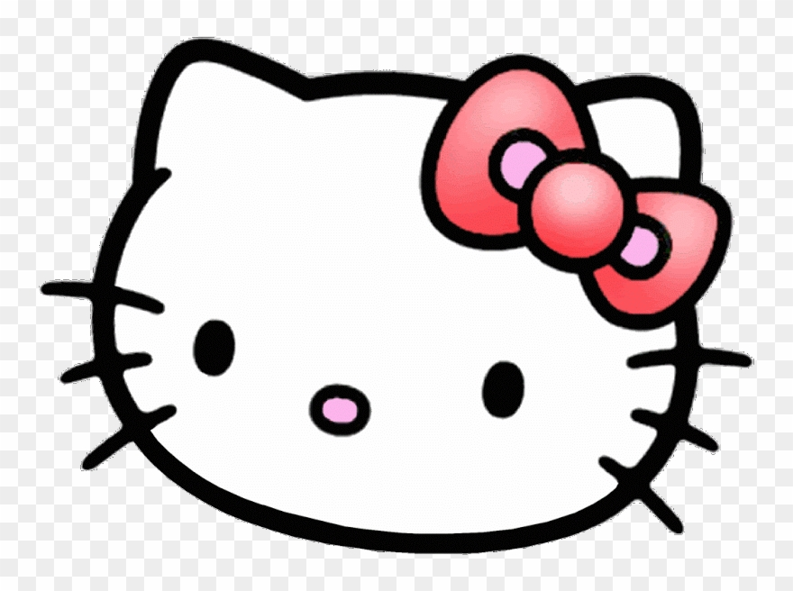 Hello Kitty Face Png Clipart (#1359554).