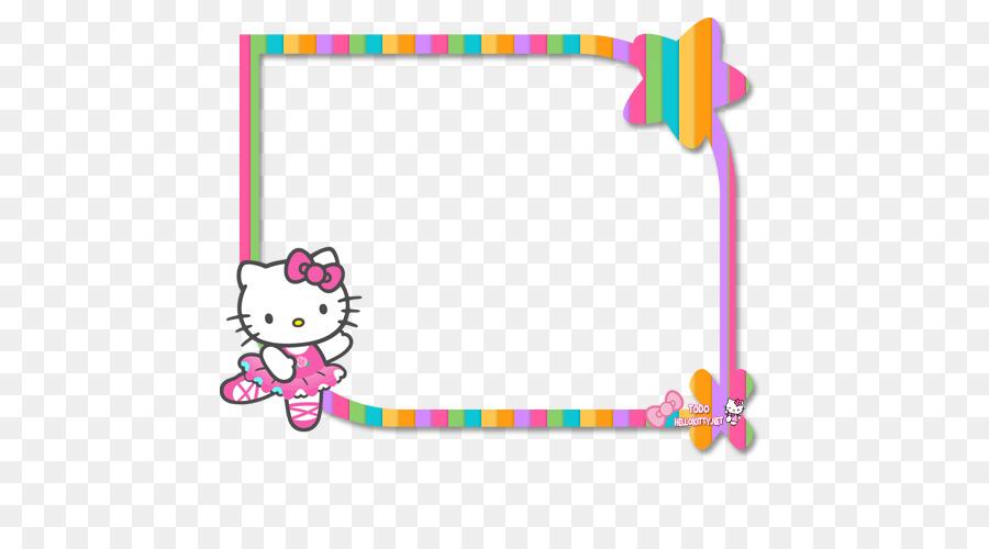 Hello Kitty Party clipart.
