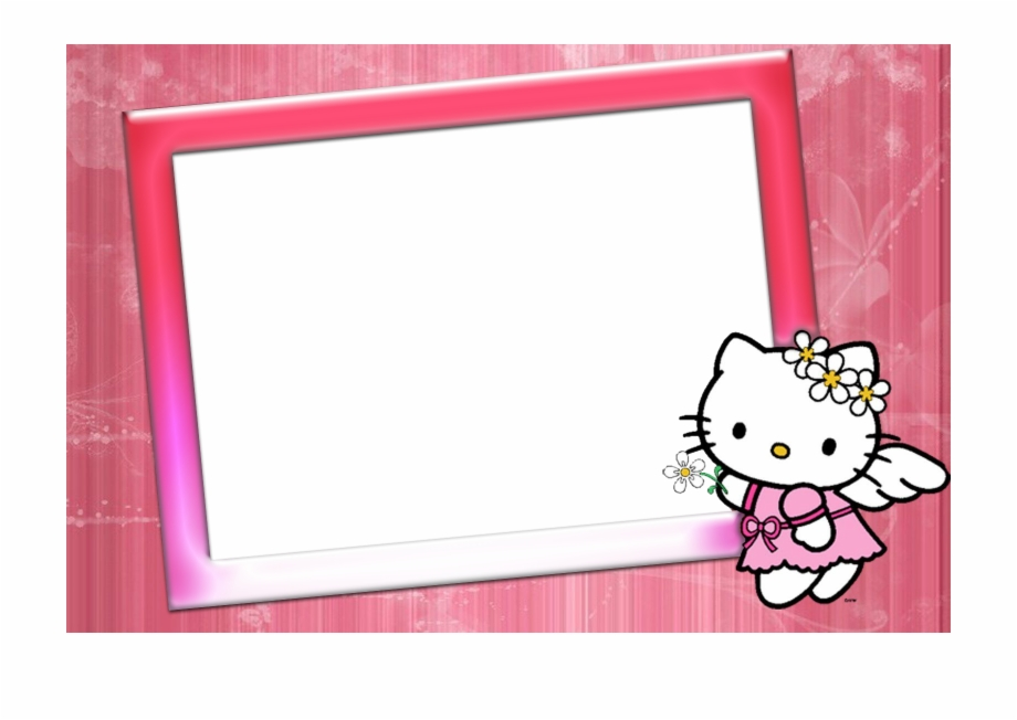 Hello Kitty Photo Frame Image.