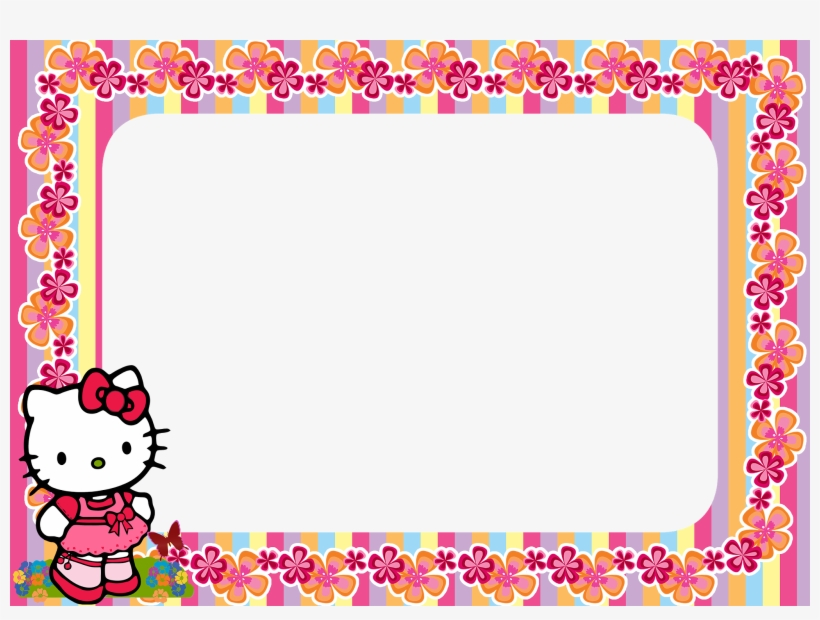 Hello Kitty Frame Png.