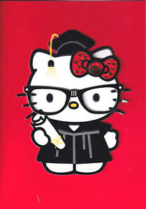 Details about PAPYRUS GRADUATION CARD NIP MSRP $6.95 HELLO KITTY CARD.