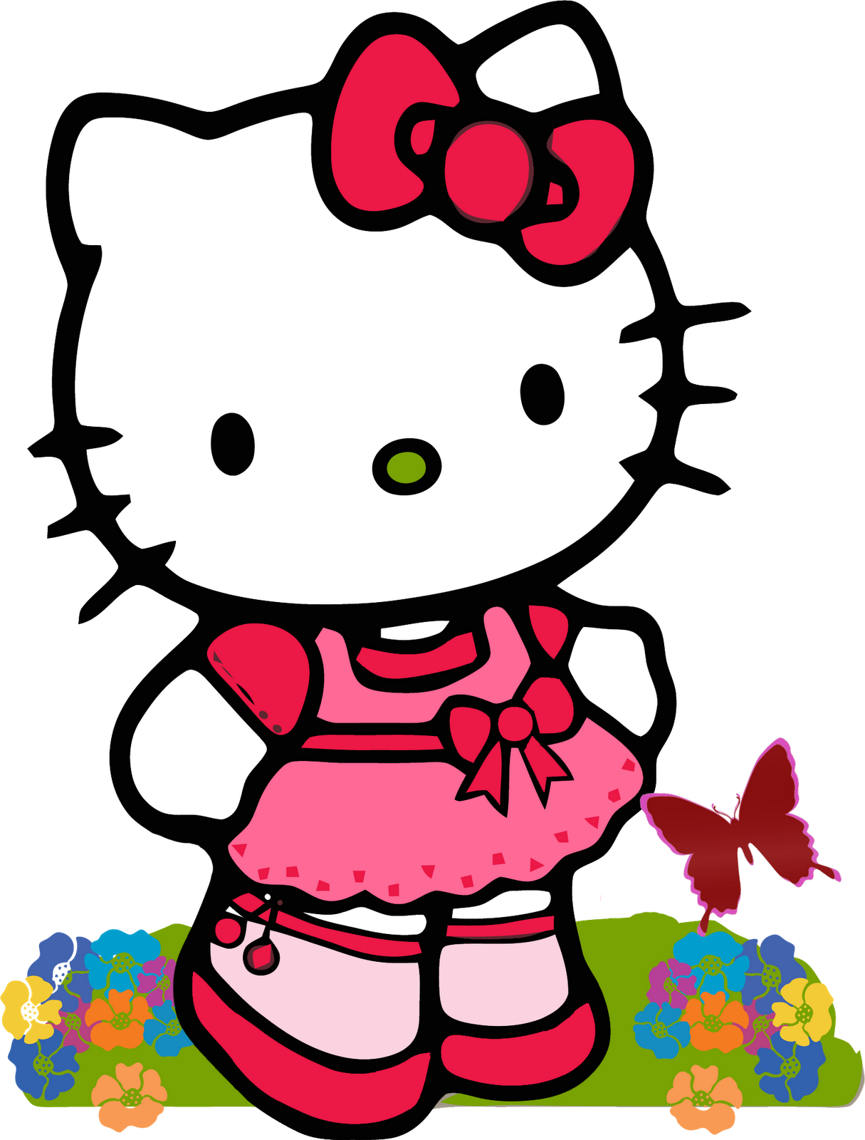 Cute Hello Kitty Clipart at GetDrawings.com.