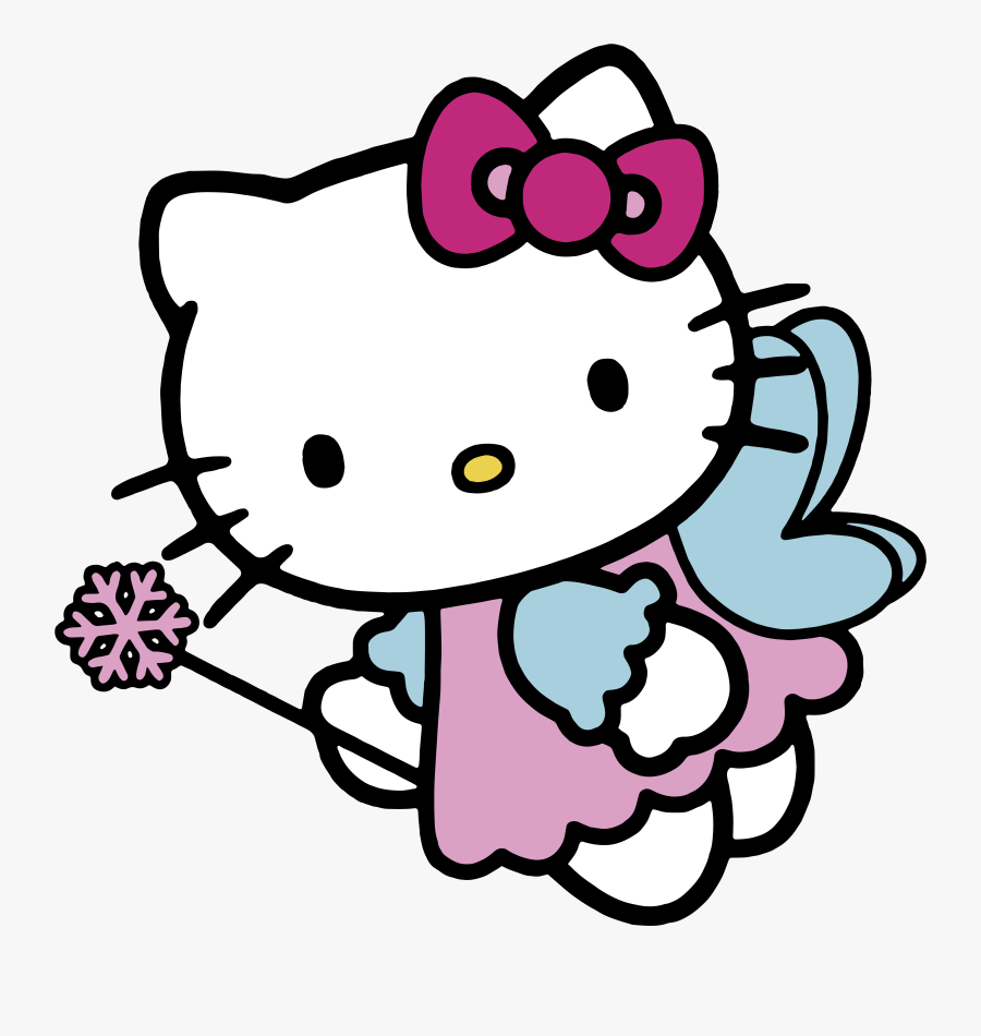 Hello Kitty Page Angel Clipart Transparent Png.