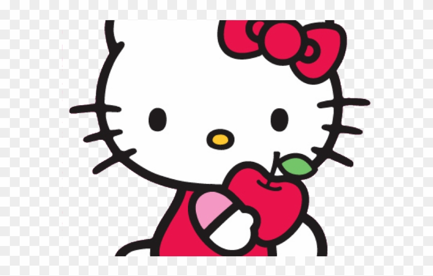Plane Clipart Hello Kitty.