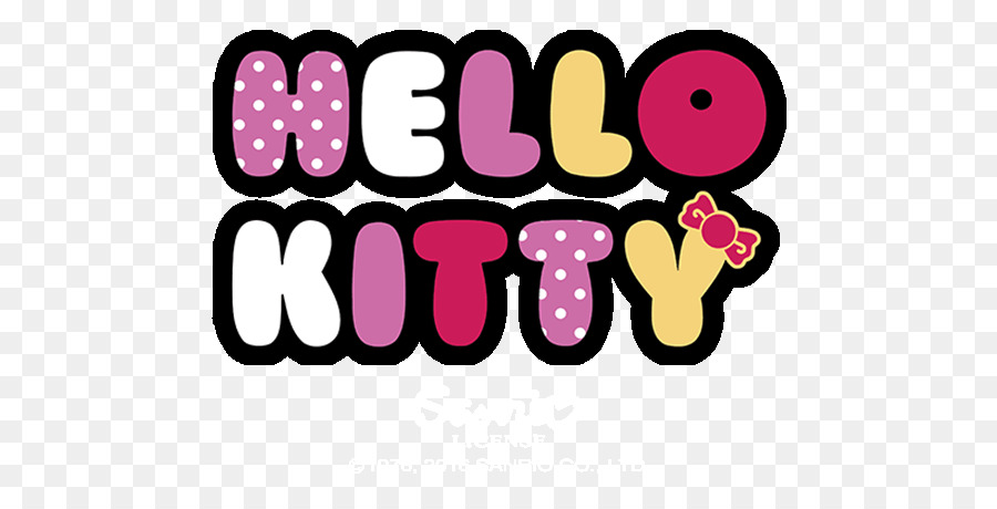 Hello Kitty Logo png download.