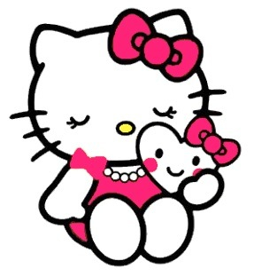 hello kitty party clipart #1