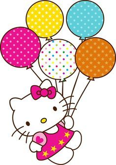 hello kitty party clipart #13