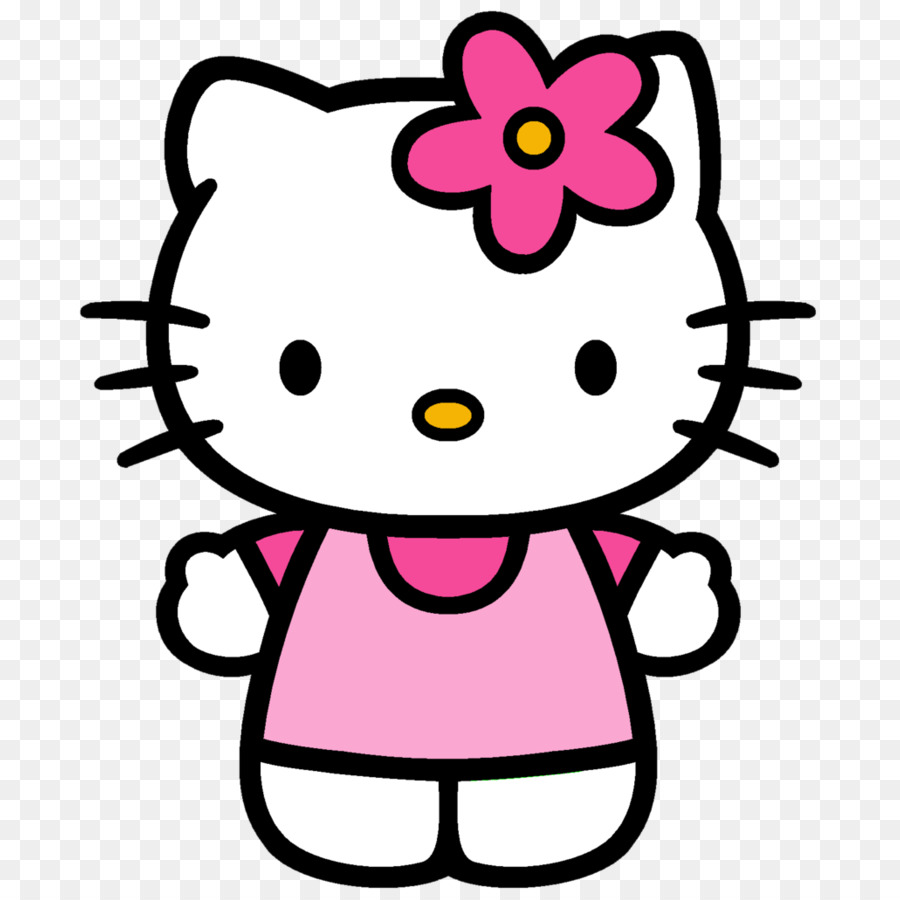 Hello Kitty Drawing png download.
