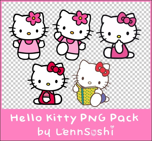 Hello Kitty PNG Pack by LennSoshi on DeviantArt.