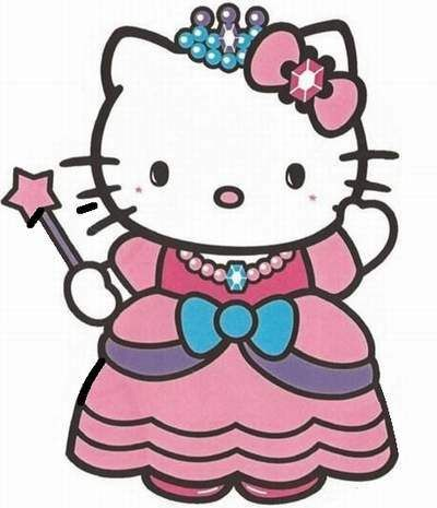 DIY hello kitty princess birthday party invitations 07.