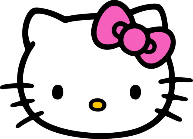 Hello kitty silhouette clipart images gallery for free download.