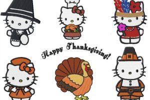 Hello kitty thanksgiving clipart » Clipart Portal.