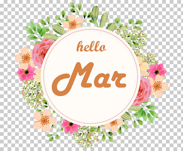 Hello March., others PNG clipart.