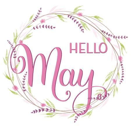 1,254 Hello May Cliparts, Stock Vector And Royalty Free Hello May.