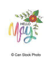 Hello may Illustrations and Stock Art. 891 Hello may illustration.
