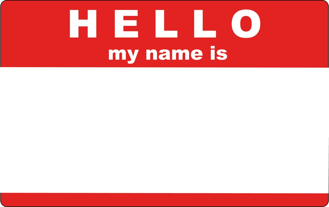 Hello my name is clipart » Clipart Portal.