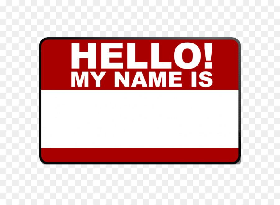 stiker hello my name clipart Sticker Brand Clip art clipart.