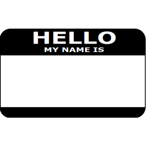 Hello my name is name tags clipart images gallery for free download.