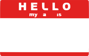 Hello My Name Is Sticker By Trexweb Clip Art at Clker.com.